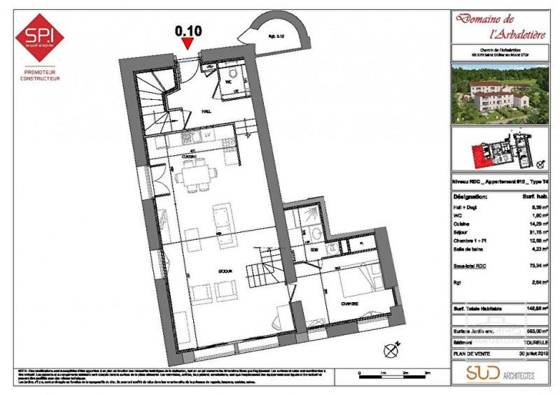 Deluxe sale apartment Saint didier au mont d'or 825000€ - Picture 4