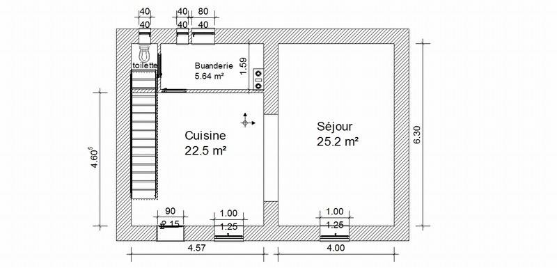 Vermietung haus St marcel bel accueil 970€ CC - Fotografie 10