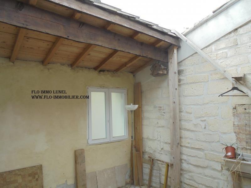 Vente maison / villa Lunel 99000€ - Photo 2