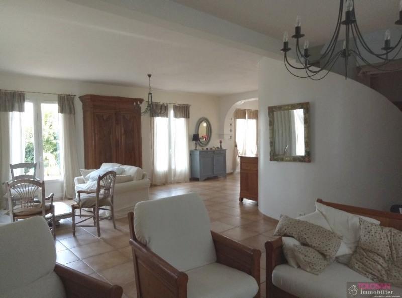 Sale house / villa Baziege 441000€ - Picture 2