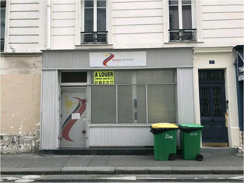 Rental empty room/storage Paris 15ème 1389€ CC - Picture 2
