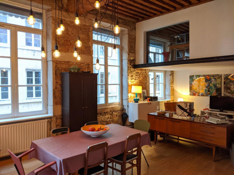 Venta  apartamento Lyon 1er 485000€ - Fotografía 2