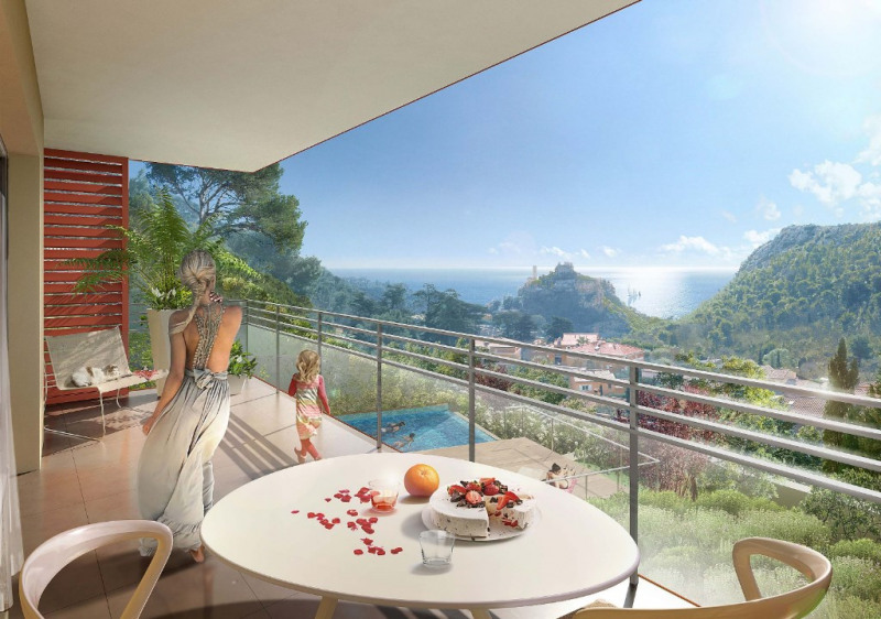 Vente appartement Eze 440 000€ - Photo 2