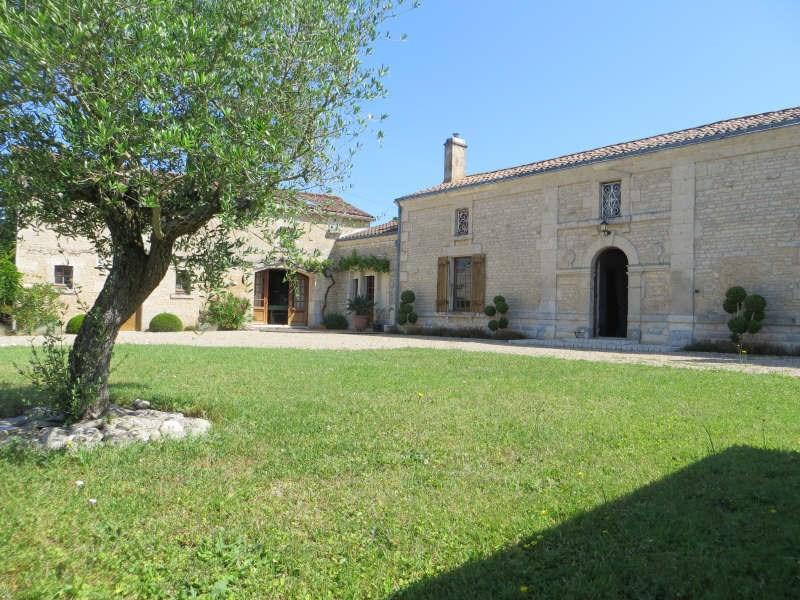 Vente maison / villa Nieul-sur-l'autise 350000€ - Photo 1