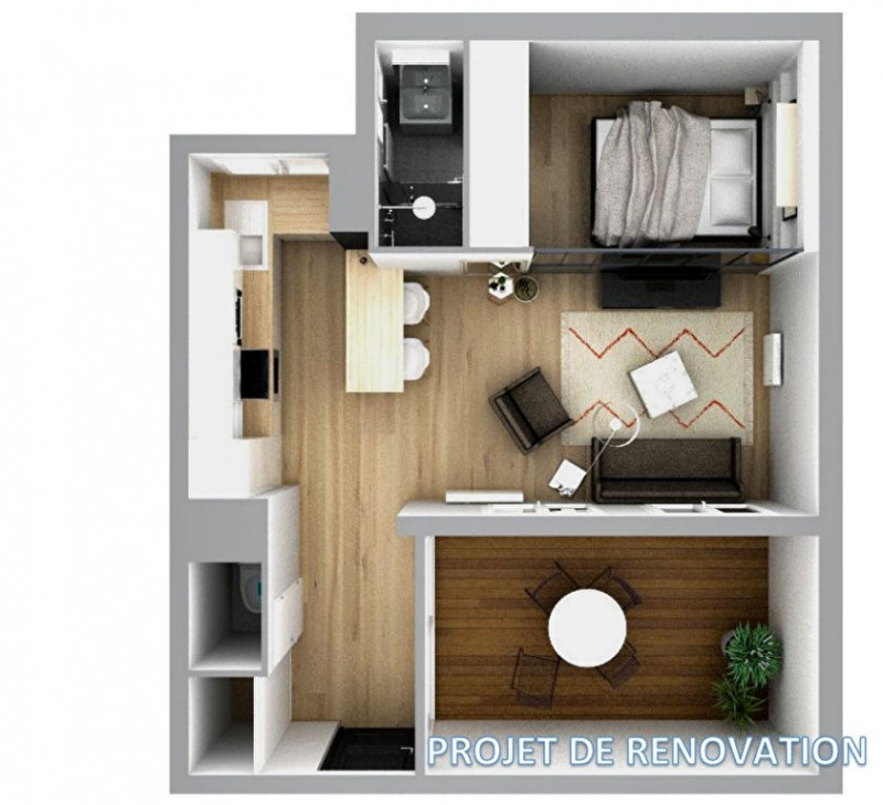 Vente appartement Bordeaux 179 500€ - Photo 3