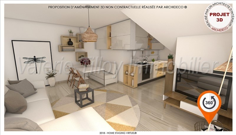 Investment property apartment Bruz 121 000€ - Picture 3