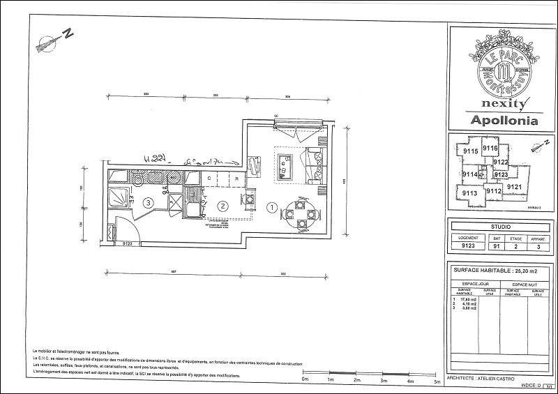 Rental apartment Juvisy sur orge 592€ CC - Picture 2