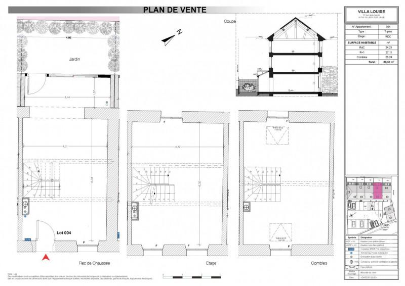 Revenda casa Villiers-sur-orge 201445€ - Fotografia 4