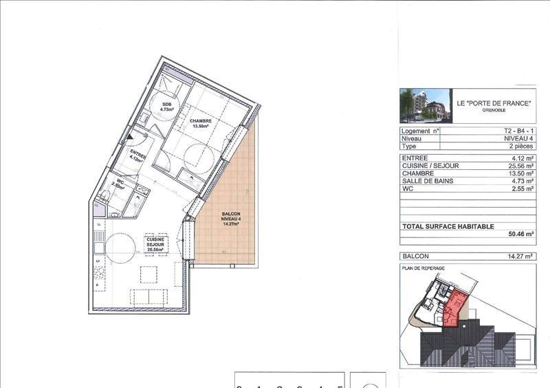 Deluxe sale apartment Grenoble 248000€ - Picture 2