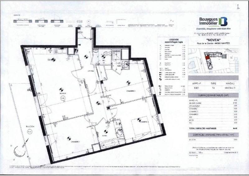 Location appartement Nantes 1022€ CC - Photo 4