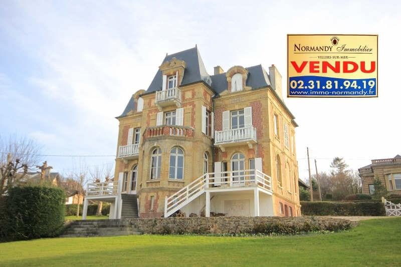 Deluxe sale house / villa Villers sur mer 1410000€ - Picture 1
