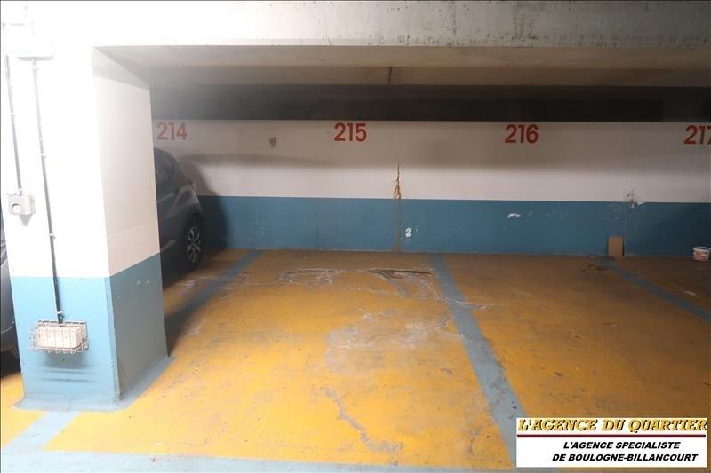 Vente parking Boulogne billancourt 21000€ - Photo 2