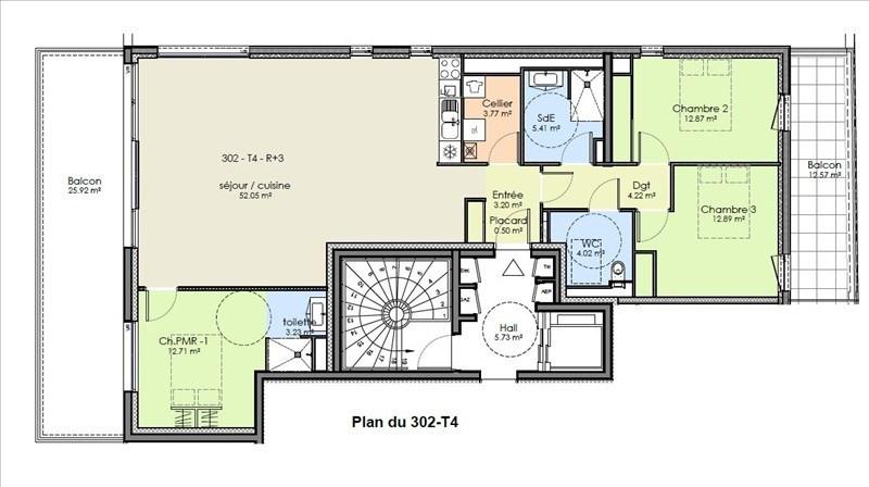 Vente appartement Niort 361840€ - Photo 2
