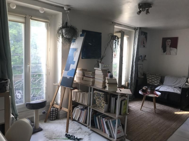 Sale apartment Paris 20ème 264 000€ - Picture 2