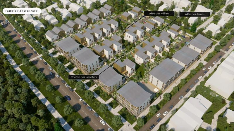 Sale house / villa Bussy-saint-georges 414000€ - Picture 2