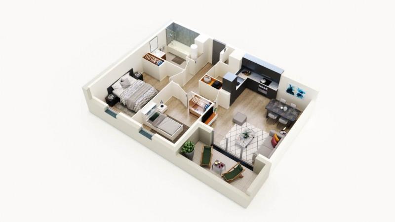 Sale apartment Sautron 260000€ - Picture 4