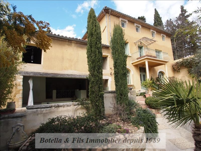Verkoop van prestige  huis Uzes 526000€ - Foto 1