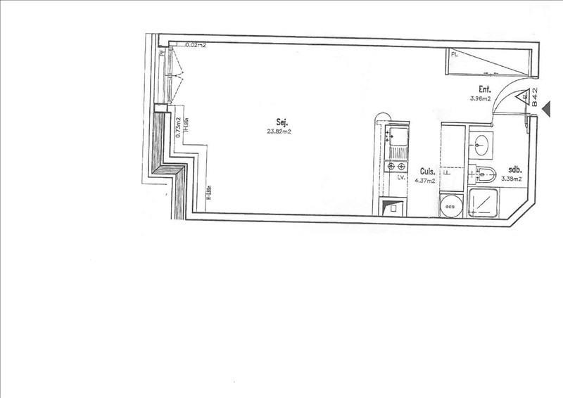 Rental apartment Antony 869€ CC - Picture 5