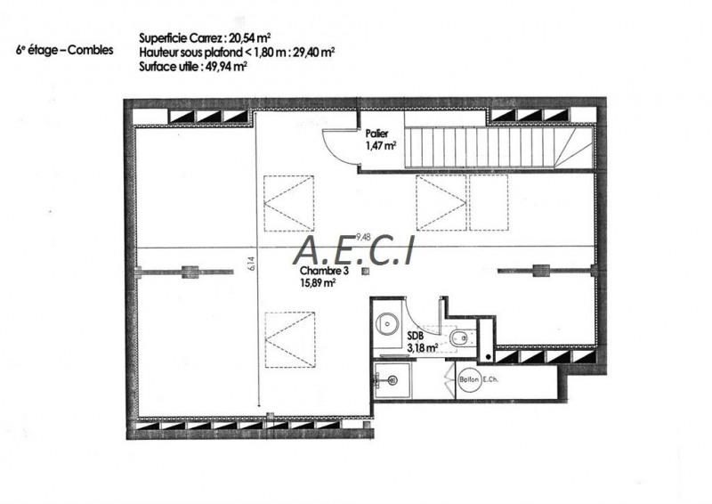 Deluxe sale apartment Asnieres sur seine 635000€ - Picture 2