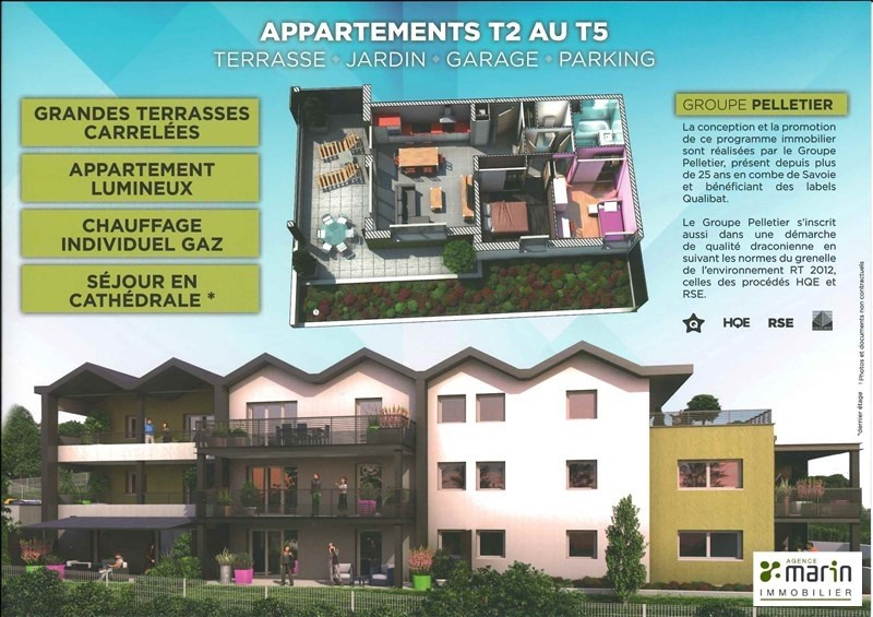 New home sale program Aix les bains  - Picture 4