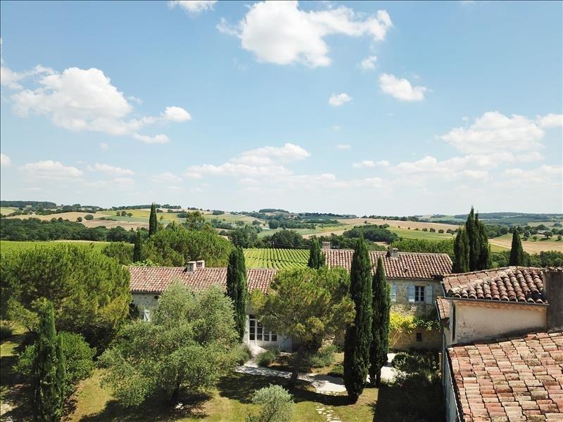 Verkoop van prestige  huis La romieu 1775000€ - Foto 4