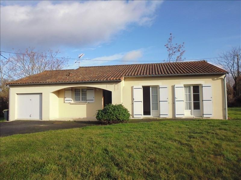 Vente maison / villa Nouaille maupertuis 189900€ - Photo 1
