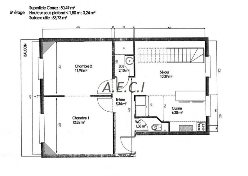 Deluxe sale apartment Asnieres sur seine 635000€ - Picture 1
