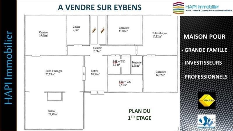 Verkoop  huis Eybens 549000€ - Foto 3