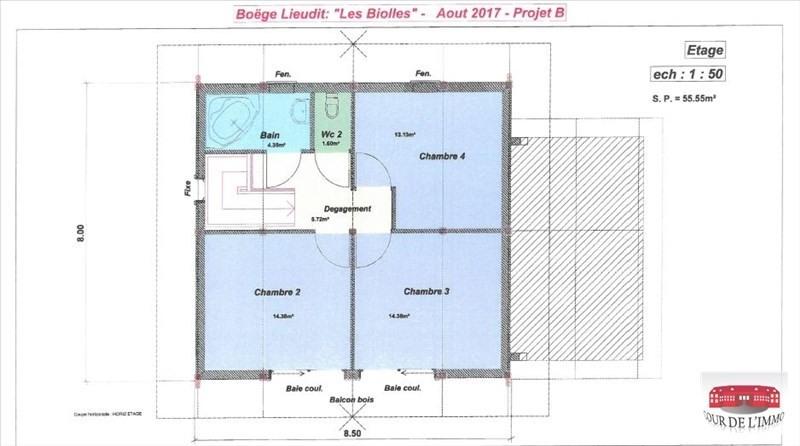Vente maison / villa Boege 448300€ - Photo 4