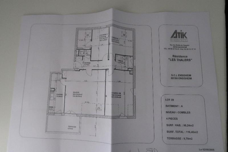 Sale apartment Ensisheim 187000€ - Picture 4
