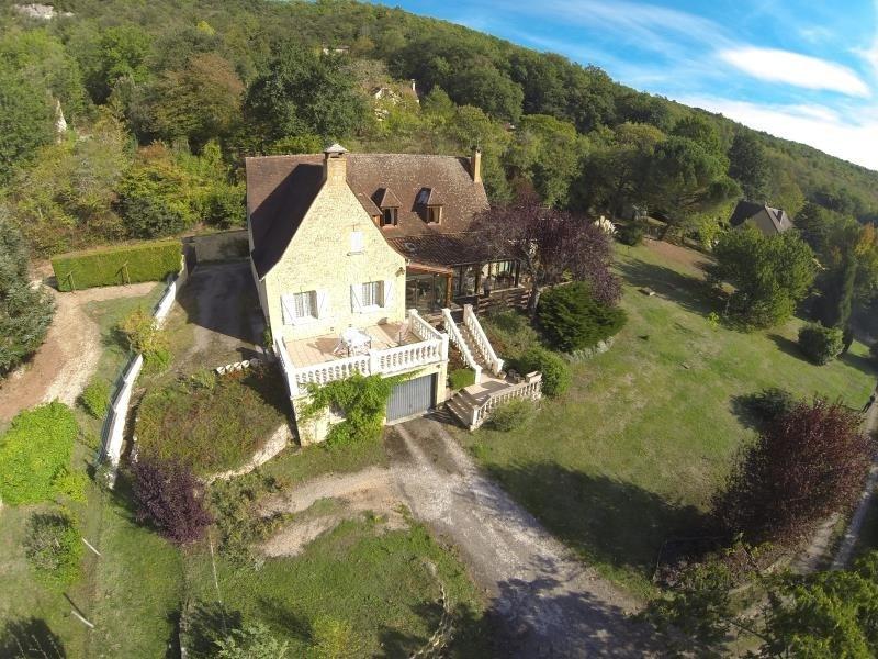 Sale house / villa Vezac 290000€ - Picture 1