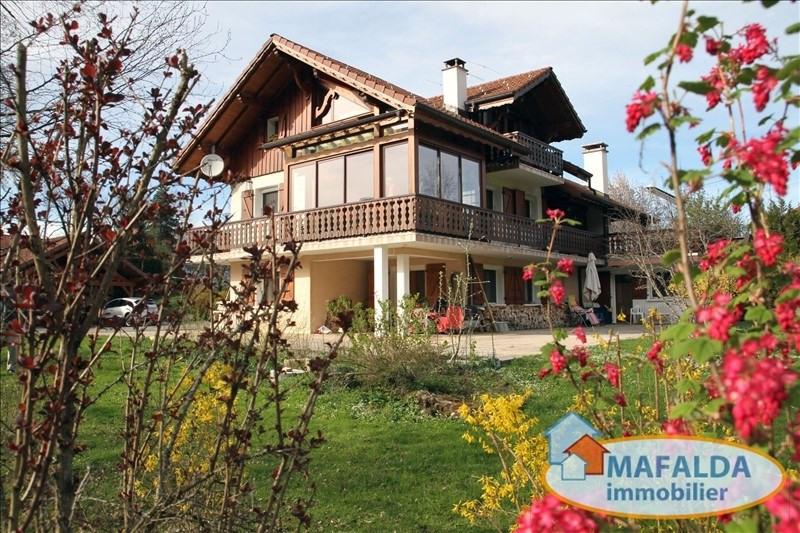 Sale house / villa Mont saxonnex 499000€ - Picture 1