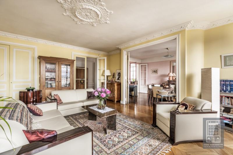 Deluxe sale apartment Paris 18ème 1295000€ - Picture 1