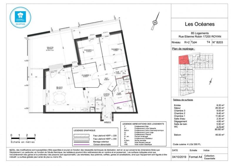 Vente appartement Royan 271000€ - Photo 4