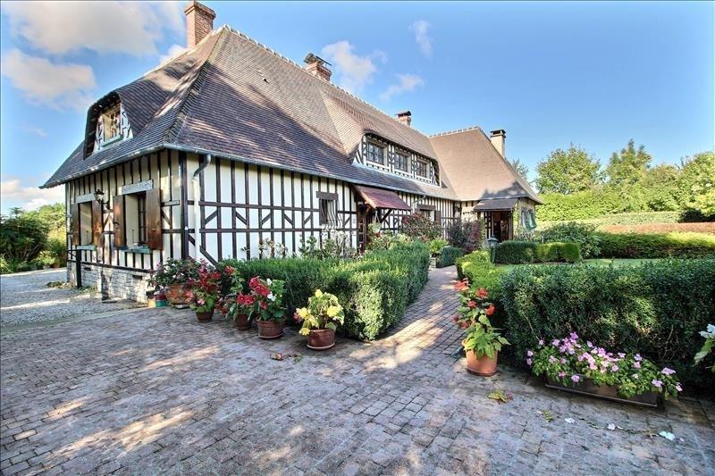 Vente de prestige maison / villa Canapville 588000€ - Photo 1