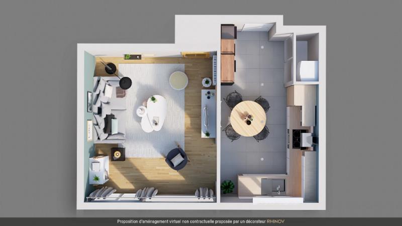 Sale apartment Le rheu 109500€ - Picture 10