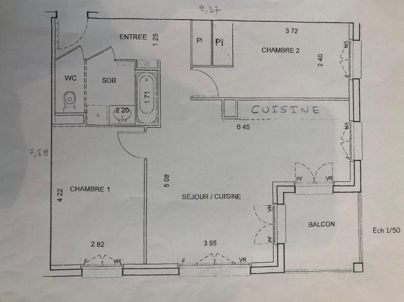Location appartement Villennes sur seine 1190€ CC - Photo 8