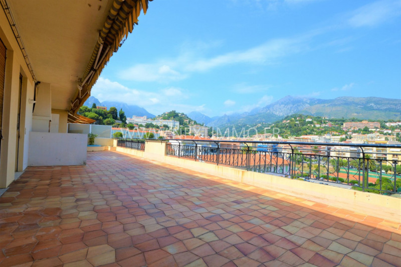 Deluxe sale apartment Menton 900 000€ - Picture 1