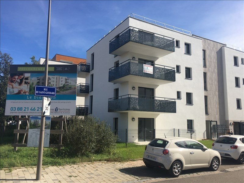 Location appartement Lingolsheim 595€ CC - Photo 1