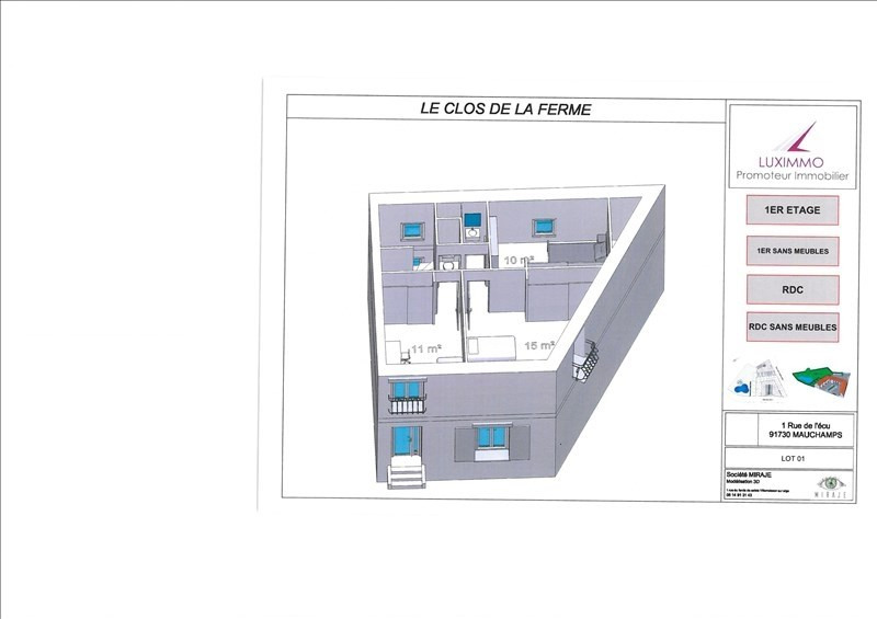 Vente appartement Arpajon 195000€ - Photo 4