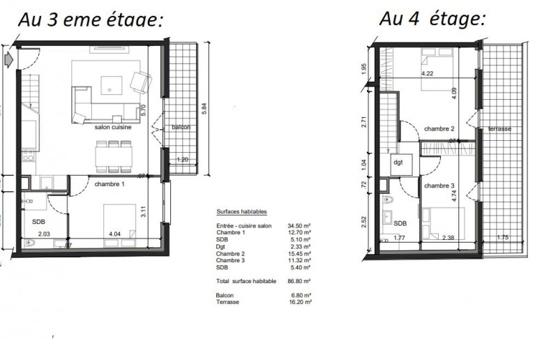 Produit d'investissement appartement Noisy-le-sec 374000€ - Photo 1