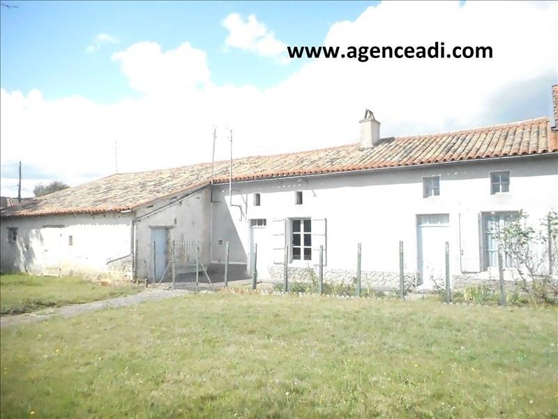 Vente maison / villa Pamproux 59900€ - Photo 1