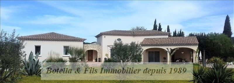 Sale house / villa Bagnols sur ceze 525000€ - Picture 1