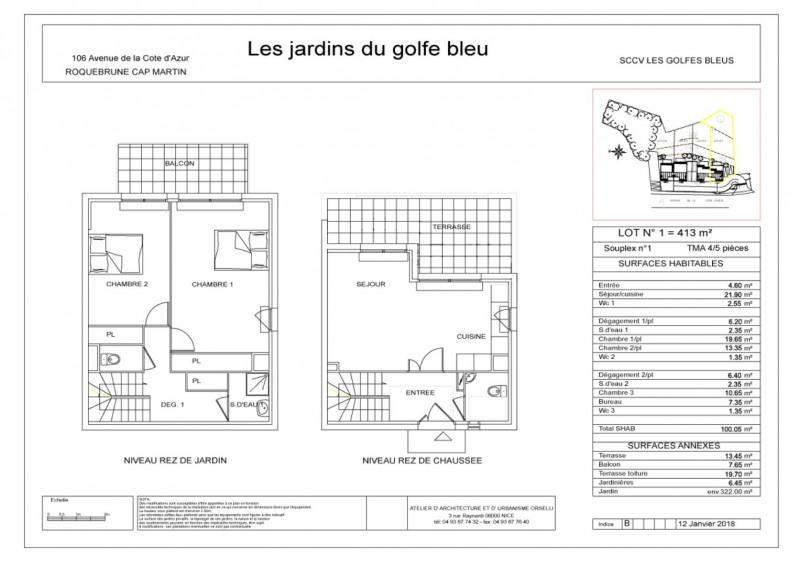 Sale house / villa Roquebrune-cap-martin 680000€ - Picture 4