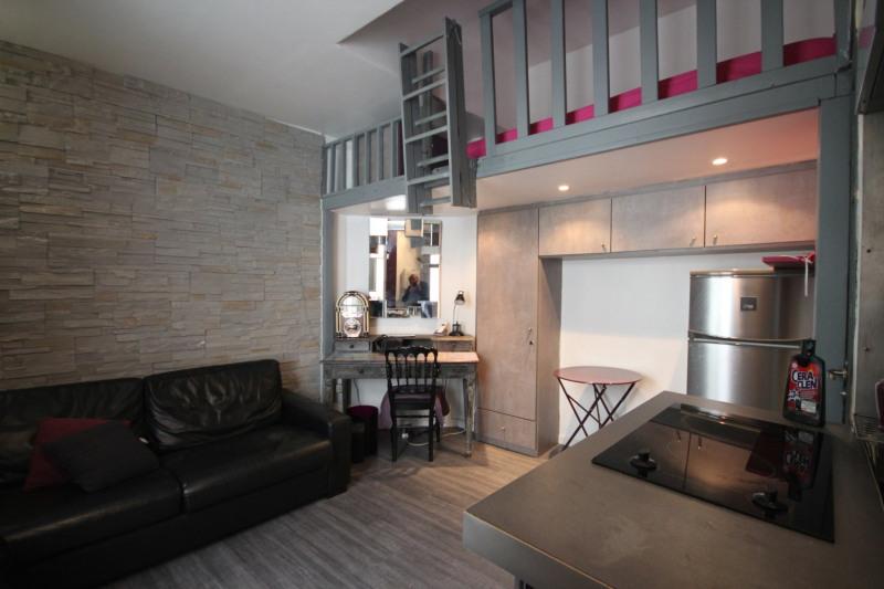 Rental apartment Paris 17ème 695€ CC - Picture 2