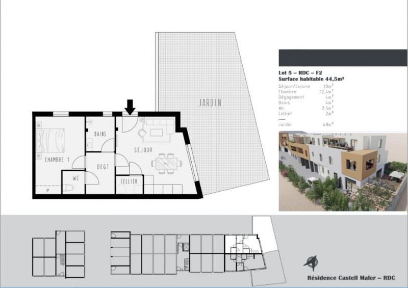 Vente appartement Argeles sur mer 175400€ - Photo 2