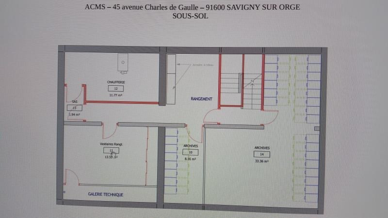 Location local commercial Savigny sur orge 3 167€ HT/HC - Photo 12