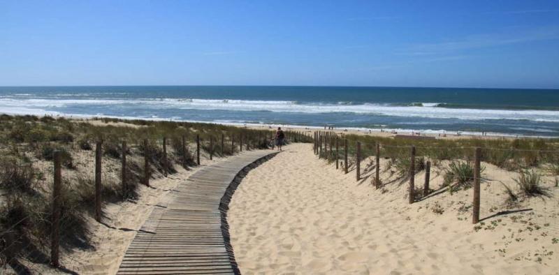 Verkauf grundstück Lacanau ocean 346500€ - Fotografie 1