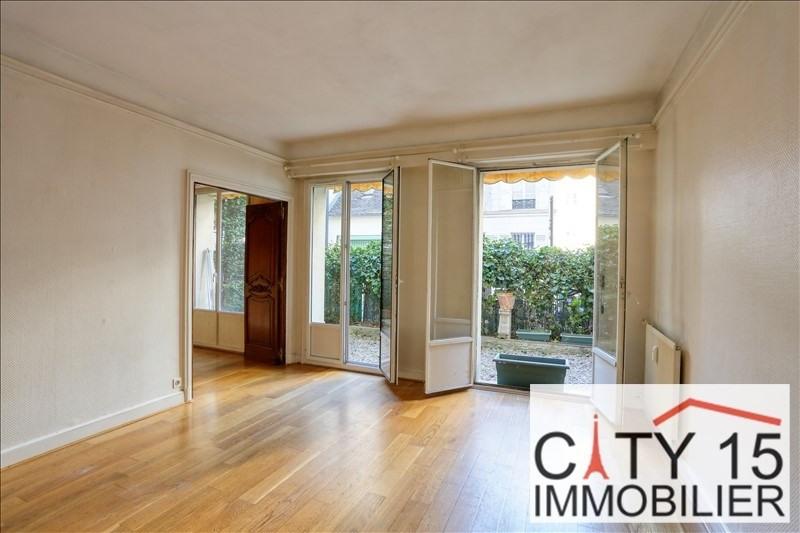 Venta  apartamento Paris 15ème 598000€ - Fotografía 1