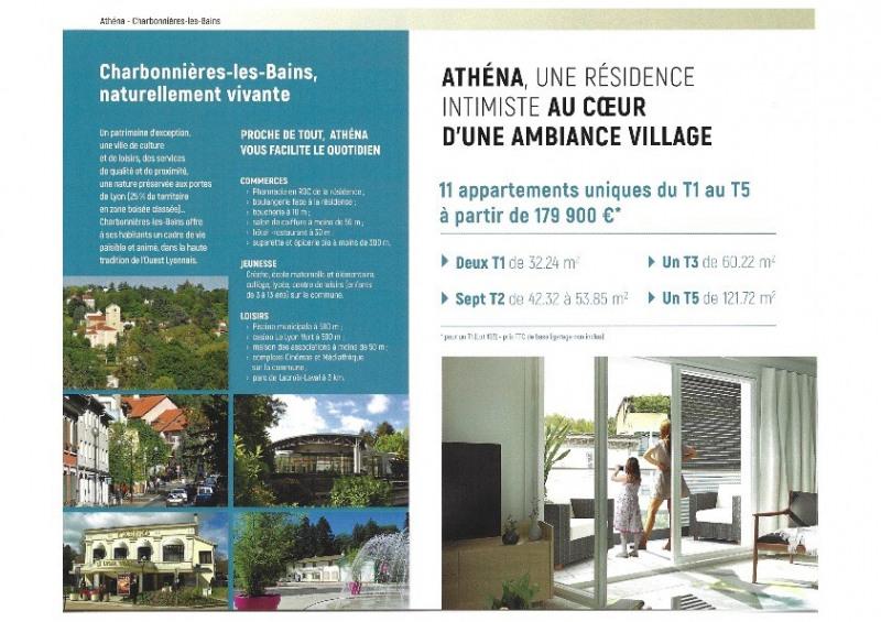 Sale apartment Charbonnieres les bains 284900€ - Picture 2
